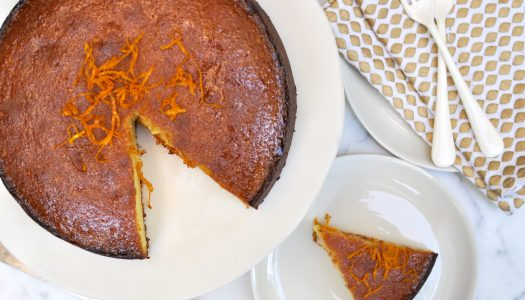 Clementine and Almond Syrup Cake