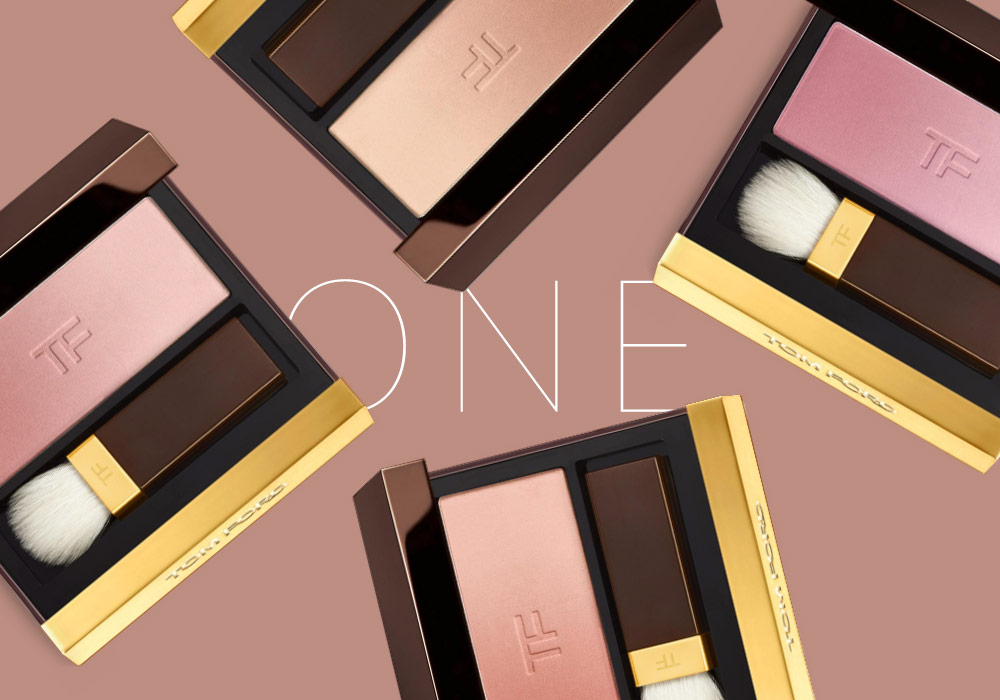 Tom Ford Eye and Cheek Shadows, in Bronze, Peach, Plum, or Pink