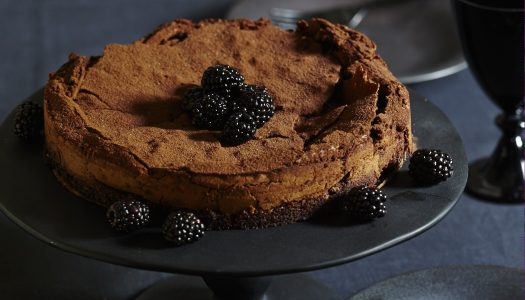 Deep & Dark Flourless Chocolate Cake