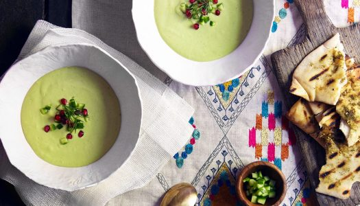 Cold Cucumber Yogurt Soup