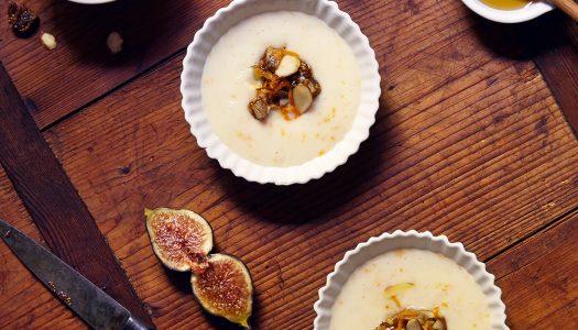 Orange And Cardamon Coconut Milk Malabi